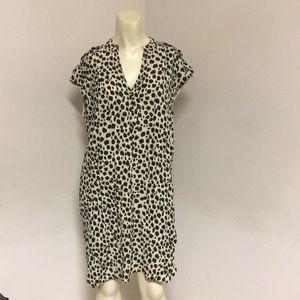 Madewell Cheetah Print Dress